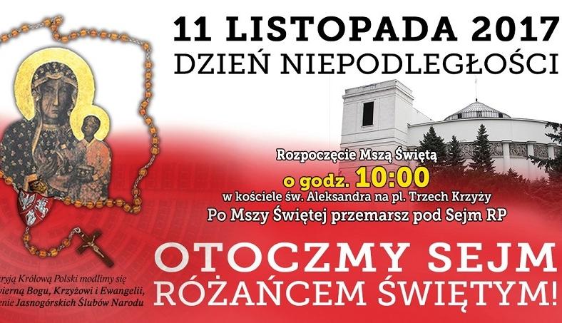 Cenzura w warszawskim ratuszu. Różaniec nie do zniesienia dla urzędników prezydent stolicy?