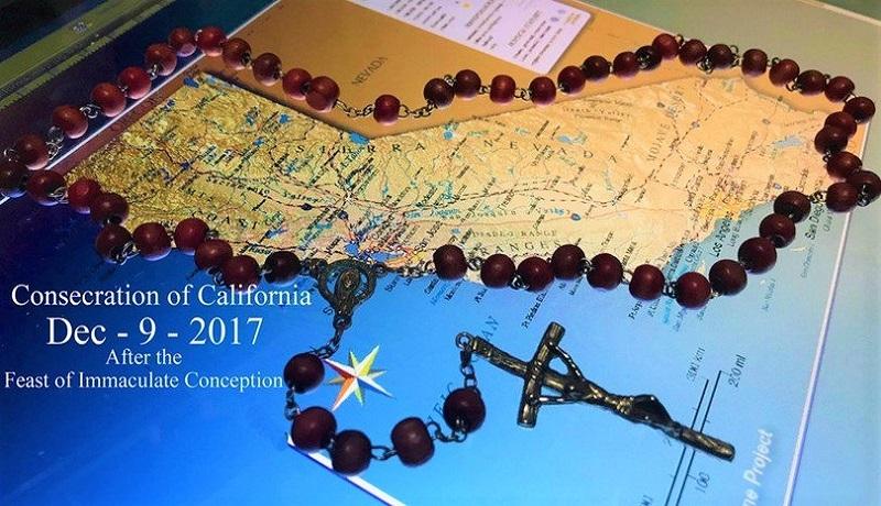 Kalifornia poświęcona Matce Bożej. Amerykanie wzorowali się na Różańcu do Granic