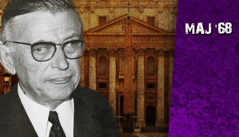 Duch Sartre'a w Kościele. Jak jezuici przystąpili do rewolucji Maja 68?