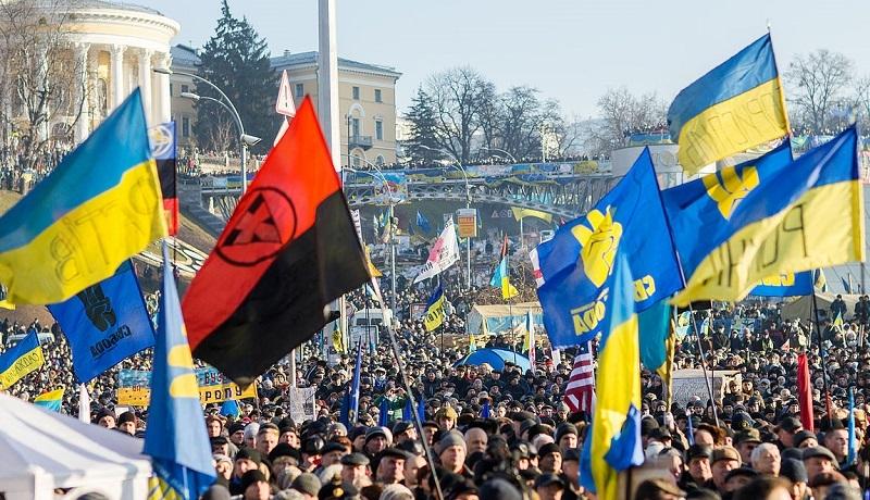 Ukraina: banderyzm infekuje grekokatolików. Duchowny ze Stryja zorganizował marsz z flagami UPA