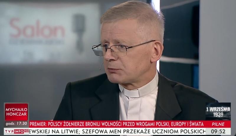 Ksiądz Zieliński: Seminaria ignorują zakaz przyjmowania homoseksualistów