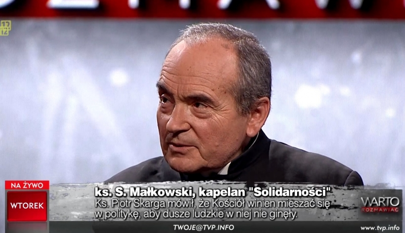 Ks. Małkowski: polski rząd zabiega o poparcie ze strony tych, którzy nie uznają Dekalogu!